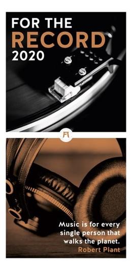Abbildung von For the Record - der Vinyl Kalender 2020   2019