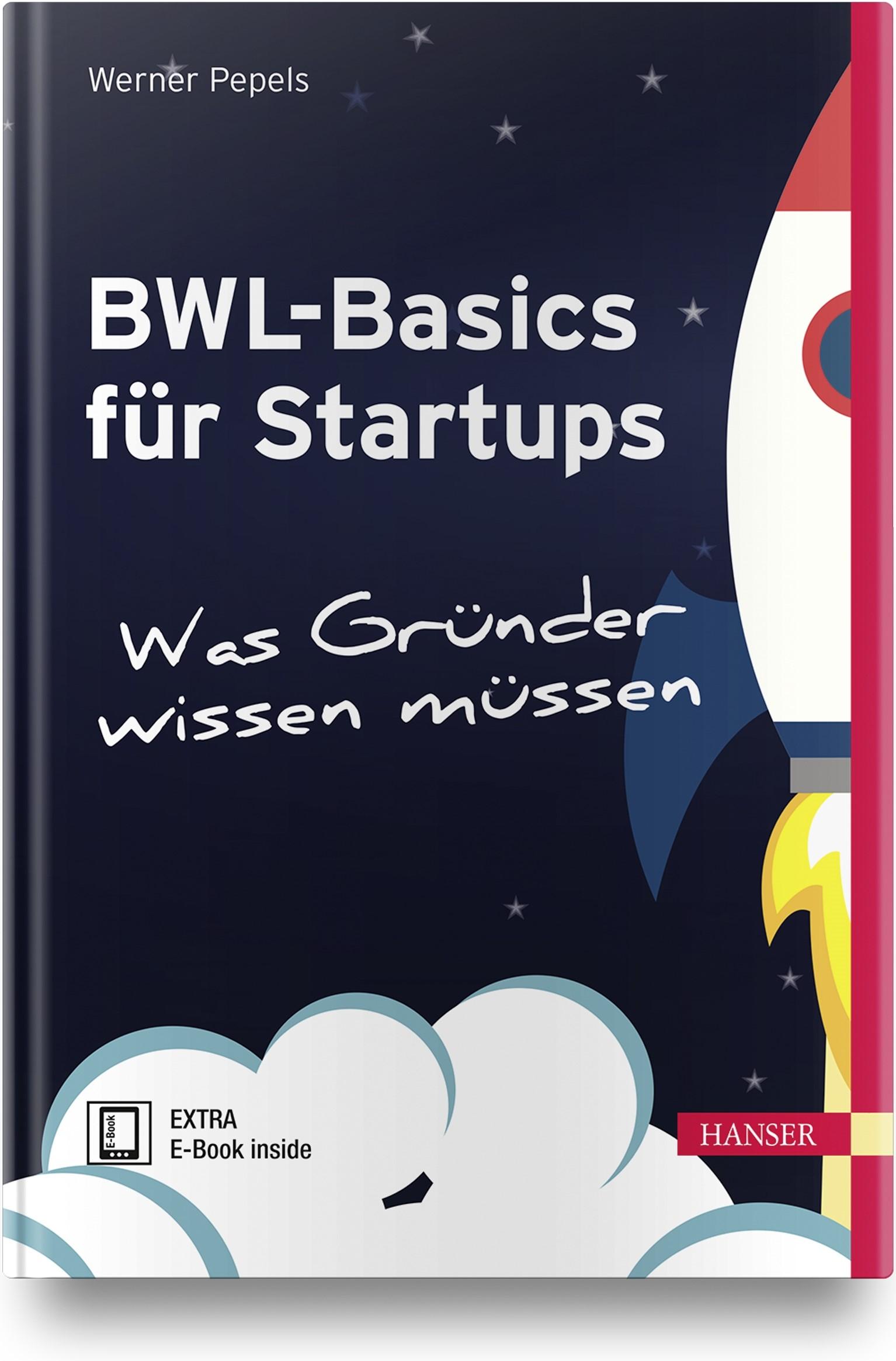 BWL-Basics für Start-ups | Pepels, 2019 | Buch (Cover)