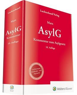 Abbildung von Marx | AsylG | 10. Auflage | 2019 | Kommentar zum Asylgesetz
