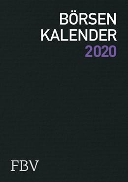 Abbildung von Meissner / Speck | Börsenkalender 2020 | 2019