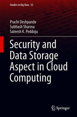 Abbildung von Deshpande / Sharma | Security and Data Storage Aspect in Cloud Computing | 1. Auflage | 2019 | beck-shop.de