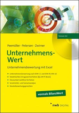 Abbildung von Peemöller / Petersen / Zwirner | UnternehmensWert | Version 9.0 | 2019 | Unternehmensbewertung mit Exce...