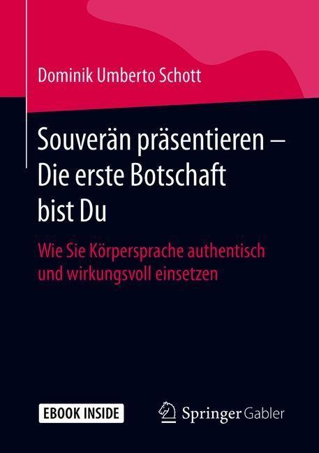 Souverän präsentieren - Die erste Botschaft bist Du | Schott, 2019 | Buch (Cover)