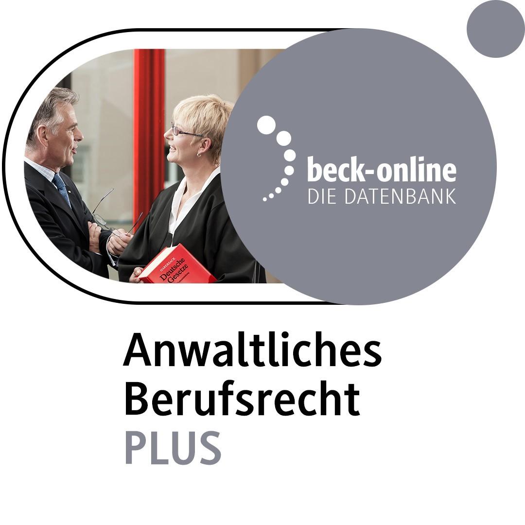 Anwaltliches Berufsrecht PLUS, 2018 (Cover)