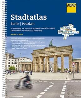 Abbildung von ADAC Stadtatlas Berlin/Potsdam mit Brandenburg a.d. Havel, Eberswalde, Frankfurt | 14. Auflage | 2019 | (Oder), Luckenwalde, Oranienbu...