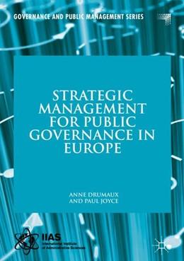 Abbildung von Drumaux / Joyce   Strategic Management for Public Governance in Europe   1. Auflage   2020   beck-shop.de