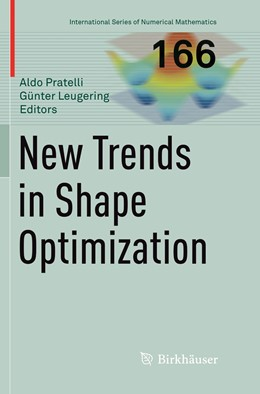 Abbildung von Pratelli / Leugering | New Trends in Shape Optimization | Softcover reprint of the original 1st ed. 2015 | 2019 | 166