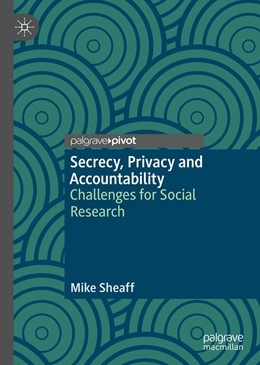 Abbildung von Sheaff | Secrecy, Privacy and Accountability | 1. Auflage | 2019 | beck-shop.de