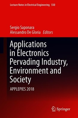 Abbildung von Saponara / De Gloria | Applications in Electronics Pervading Industry, Environment and Society | 1st ed. 2019 | 2019 | APPLEPIES 2018 | 573