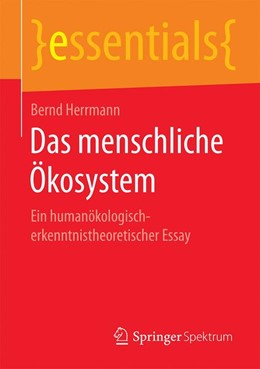 Abbildung von Herrmann | Das menschliche Ökosystem | 1. Auflage | 2019 | beck-shop.de