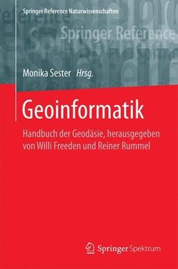 Abbildung von Sester | Geoinformatik | 1. Auflage | 2019 | beck-shop.de