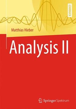 Abbildung von Hieber | Analysis II | 2019