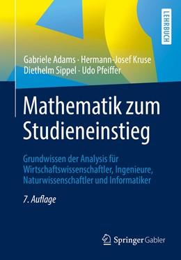 Abbildung von Adams / Kruse / Sippel   Mathematik zum Studieneinstieg   7. Aufl. 2019   2019