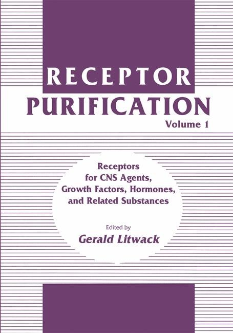 Receptor Purification | Litwack | 1990, 1990 | Buch (Cover)