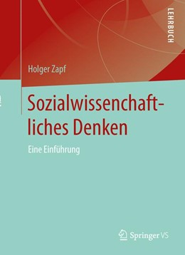 Abbildung von Zapf | Sozialwissenschaftliches Denken | 2020 | Eine Einführung