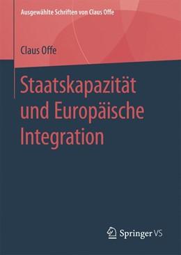 Abbildung von Offe   Staatskapazität und Europäische Integration   2019   5