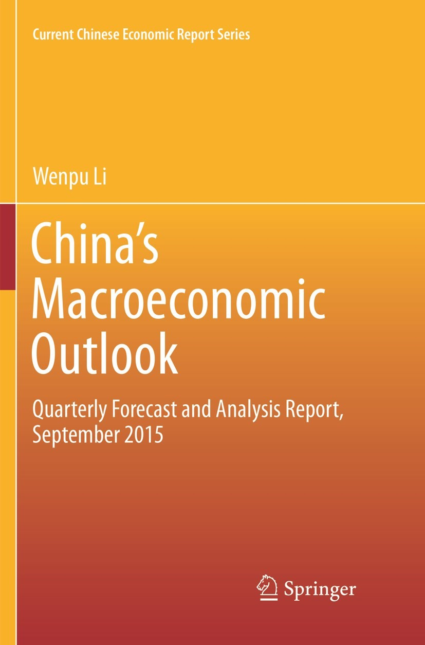 Abbildung von Li | China's Macroeconomic Outlook | Softcover reprint of the original 1st ed. 2016 | 2019