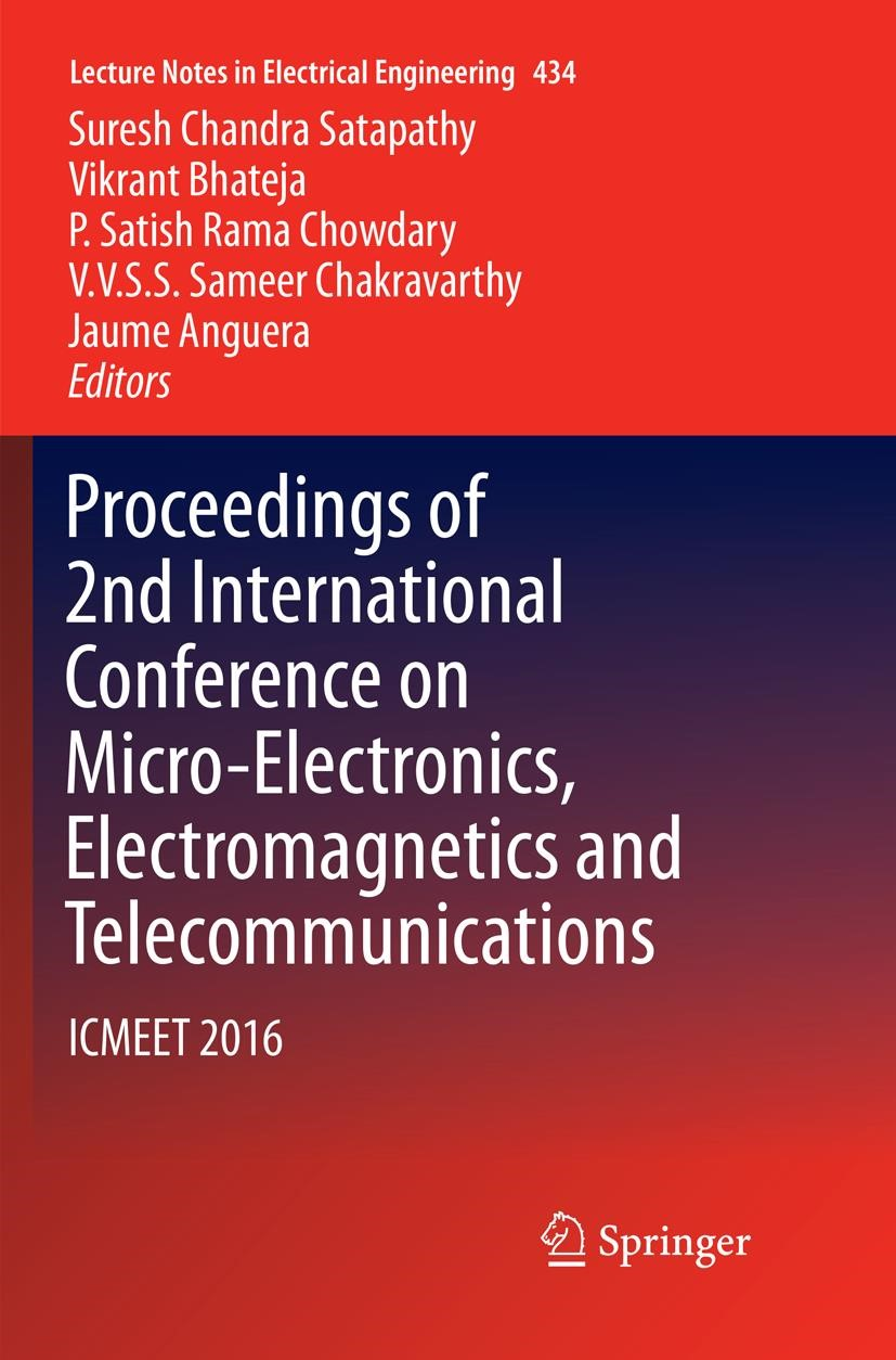 Proceedings of 9nd International Conference on Micro Electronics,  Electromagnetics and Telecommunications