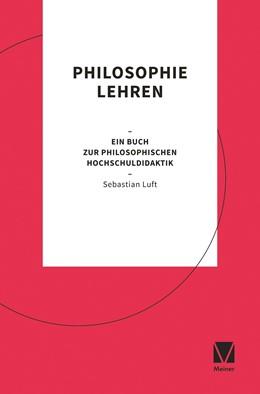 Abbildung von Luft   Philosophie lehren   1. Auflage   2019   beck-shop.de