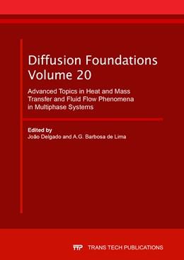 Abbildung von Delgado / Barbosa de Lima | Advanced Topics in Heat and Mass Transfer and Fluid Flow Phenomena in Multiphase Systems | 1. Auflage | 2019 | Volume 20 | beck-shop.de