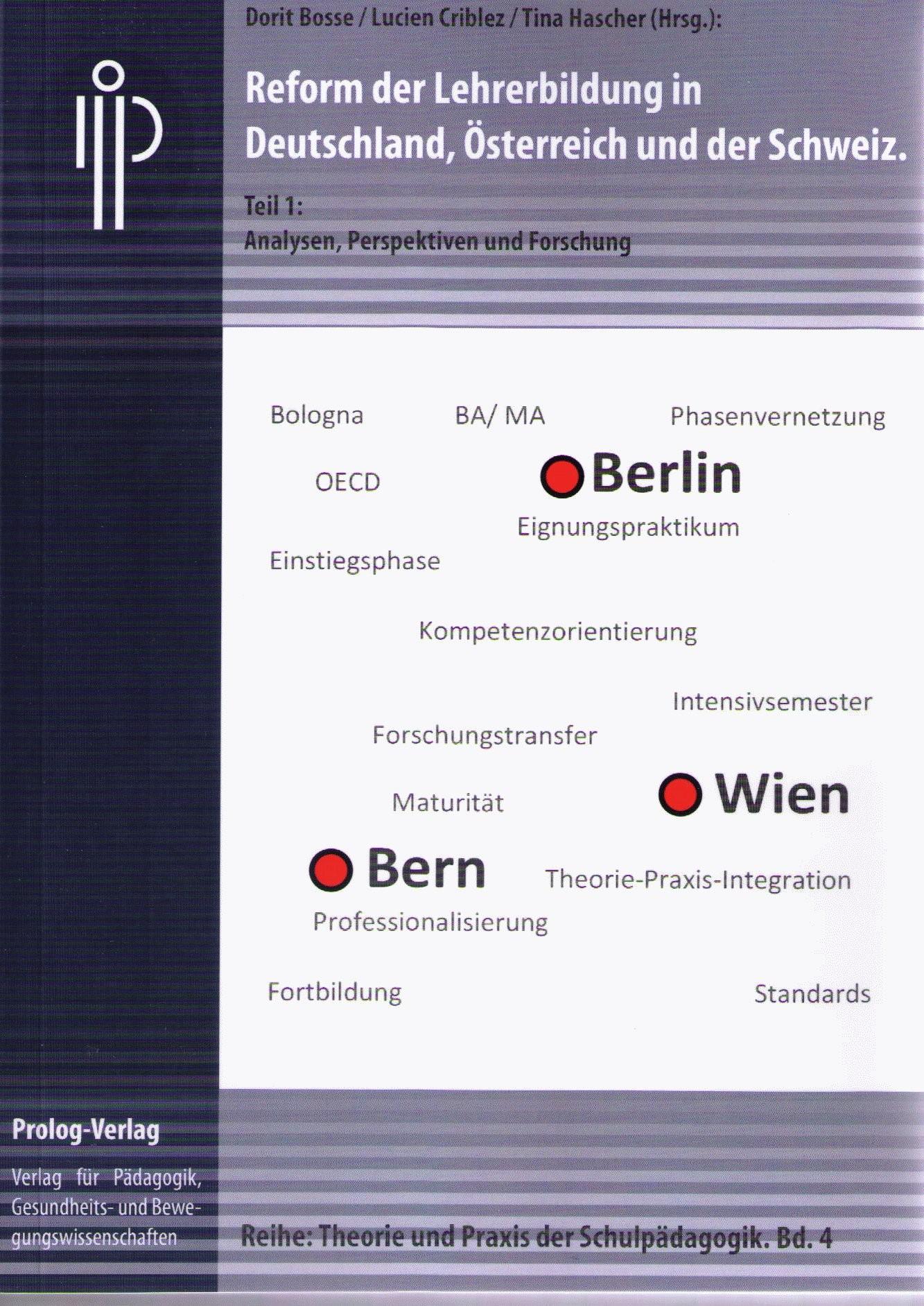 Reform der Lehrerbildung in Deutschland, Österreich und der Schweiz | Bosse / Criblez / Hascher, 2012 | Buch (Cover)