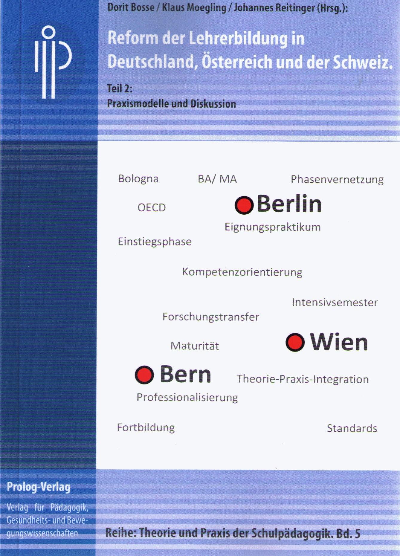 Reform der Lehrerbildung in Deutschland, Österreich und der Schweiz | Bosse / Moegling / Reitinger, 2012 | Buch (Cover)
