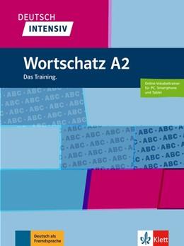 Abbildung von Deutsch intensiv Wortschatz A2. Das Training. Buch + online | 1. Auflage | 2018 | beck-shop.de