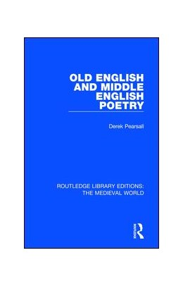 Abbildung von Pearsall | Old English and Middle English Poetry | 1. Auflage | 2019 | 39 | beck-shop.de