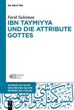 Abbildung von Suleiman | Ibn Taymiyya und die Attribute Gottes | 2019 | 11