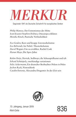 Abbildung von Demand | MERKUR Gegründet 1947 als Deutsche Zeitschrift für europäisches Denken - 2019-01 | 1. Auflage | 2019 | beck-shop.de