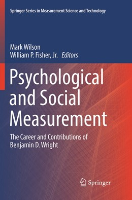 Abbildung von Wilson / Fisher, Jr.   Psychological and Social Measurement   1. Auflage   2019   beck-shop.de
