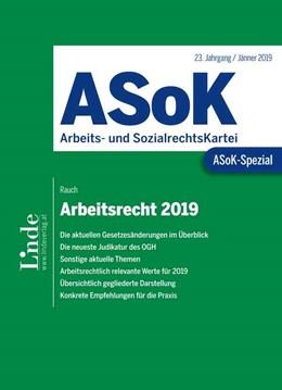 Abbildung von Rauch   ASoK-Spezial Arbeitsrecht 2019   1. Auflage   2019   beck-shop.de