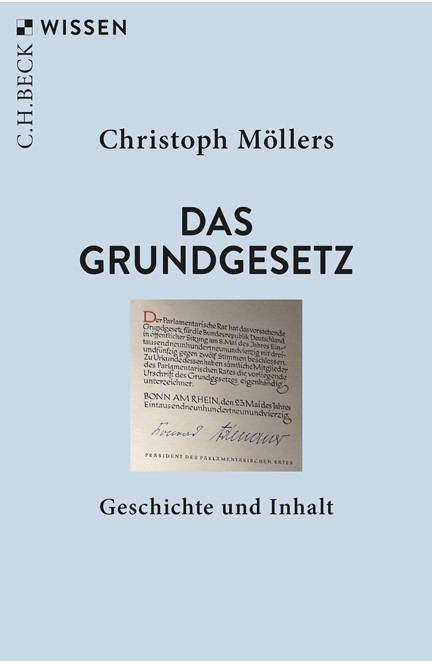 Cover: Christoph Möllers, Das Grundgesetz