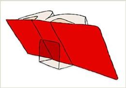 Abbildung von Acrylglas-Buchstützen 2er-Pack