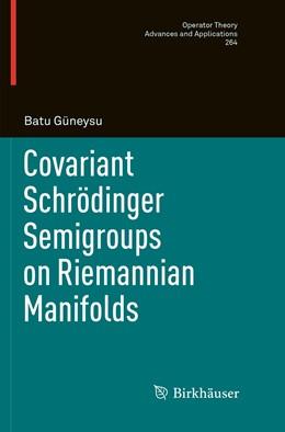 Abbildung von Güneysu   Covariant Schrödinger Semigroups on Riemannian Manifolds   1. Auflage   2019   264   beck-shop.de