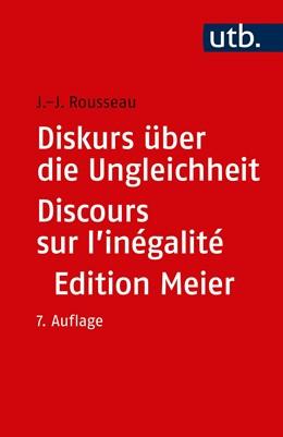 Abbildung von Rousseau   Diskurs über die Ungleichheit Discours sur l'inégalité   7. Auflage   2019   beck-shop.de