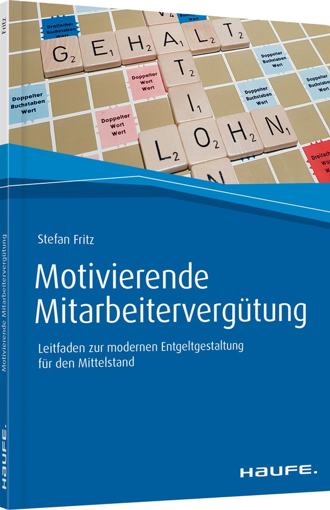 Motivierende Mitarbeitervergütung | Fritz, 2019 | Buch (Cover)