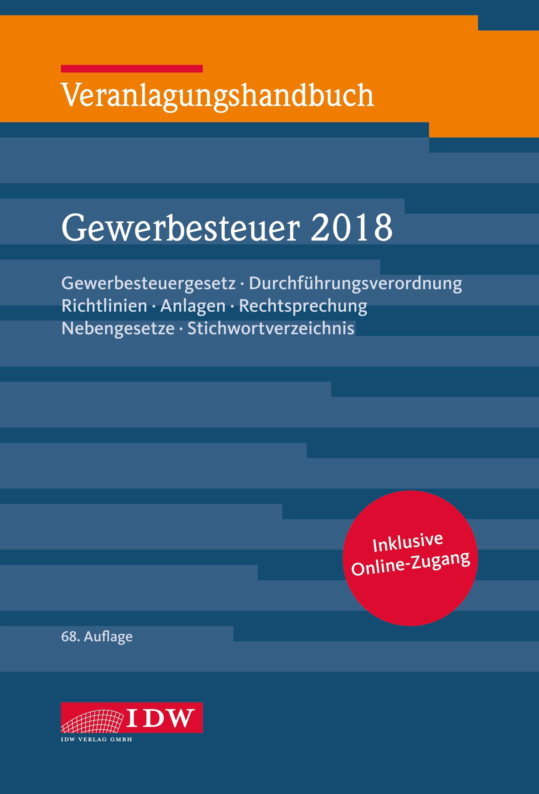 Abbildung von Boveleth   Veranlagungshandb. Gewerbesteuer 2018, 68.A.   Aufl.   2019