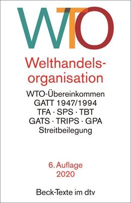 Abbildung von Welthandelsorganisation: WTO | 6. Auflage | 2020 | 5752 | beck-shop.de