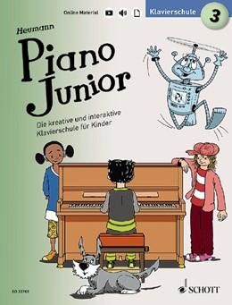 Abbildung von Heumann   Piano Junior: Klavierschule 3   2019   Die kreative und interaktive K...