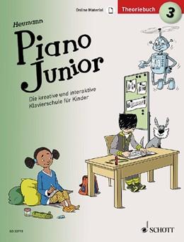 Abbildung von Heumann   Piano Junior: Theoriebuch 3   2019   Die kreative und interaktive K...