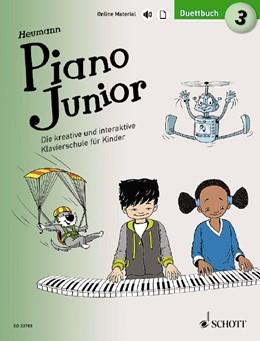 Abbildung von Heumann | Piano Junior: Duettbuch 3 | 2019 | Vierhändiges Spielbuch zur Kla...
