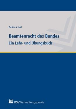 Abbildung von Heid   Beamtenrecht des Bundes   1. Auflage   2020   beck-shop.de