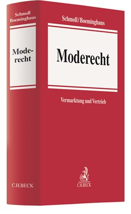 Abbildung von Schmoll / Boeminghaus | Moderecht | 1. Auflage | 2020 | beck-shop.de