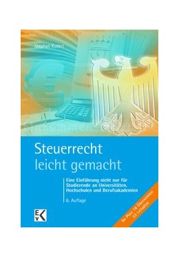 Abbildung von Kudert   Steuerrecht - leicht gemacht   6. Auflage   2019   beck-shop.de