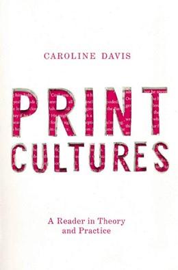 Abbildung von Davis   Print Cultures   1. Auflage   2019   beck-shop.de
