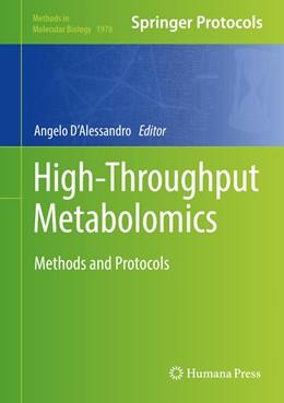 Abbildung von D'Alessandro | High-Throughput Metabolomics | 1. Auflage | 2019 | 1978 | beck-shop.de