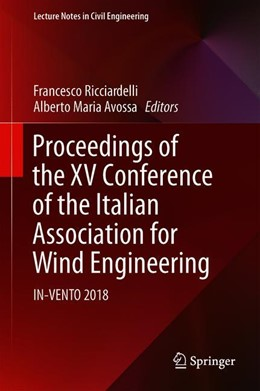 Abbildung von Ricciardelli / Avossa | Proceedings of the XV Conference of the Italian Association for Wind Engineering | 1st ed. 2019 | 2019 | IN-VENTO 2018 | 27