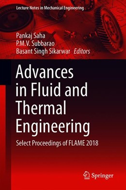 Abbildung von Saha / Subbarao | Advances in Fluid and Thermal Engineering | 1. Auflage | 2019 | beck-shop.de