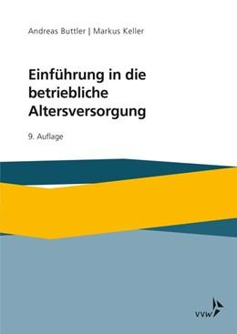 Abbildung von Buttler / Keller   Einführung in die betriebliche Altersversorgung   9. Auflage   2019